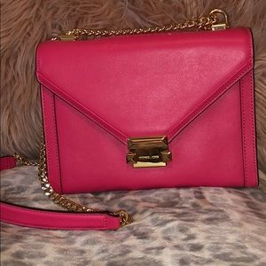 Pink Michael Kors shoulder bag